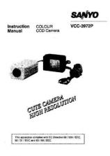 Buy Sanyo VCB-9312P GB Operating Guide by download #169586
