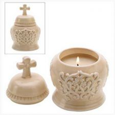 Buy Amber Scented Cathedral Candle