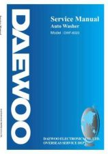 Buy Daewoo DWF-6020 (E) Service Manual by download #154851