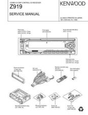 Buy KENWOOD Z919 Technical Info by download #152082