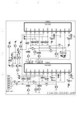 Buy Funai AK28 SOUND CIRCUIT Service Schematics by download #161272