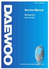Buy DAEWOO SM FR-280 (E) Service Data by download #146806