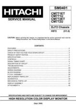 Buy HITACHI SM 0401E Service Data by download #151204