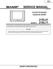 Buy Sharp 21LS90C SM GB Manual by download #169807