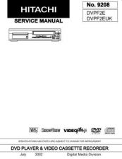 Buy Hitachi HITACHI-DVPF2E Manual by download #170992