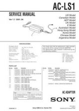 Buy SONY ACC-CSNQ Service Manual by download #166223