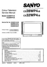 Buy Sanyo CE28WP4-B-00-01 SM-Only Manual by download #173218