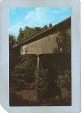 Buy AL Nectar Covered Bridge Postcard Also Called Smith's Bridge Blount County~2