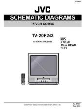 Buy JVC TV-20F243 sch Service Manual by download #156582
