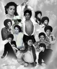 Buy Michael Jackson Live Black & White Giclee Art Prints Size >(24x30)