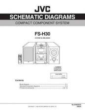 Buy JVC 22062SCH Service Schematics by download #120272