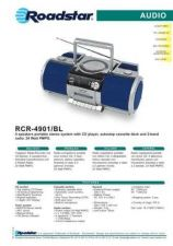 Buy ROADSTAR RCR-4901 BL by download #128481