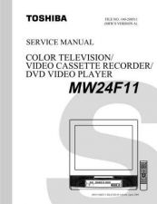 Buy TOSHIBA MW24F11 SVM Service Schematics by download #160305