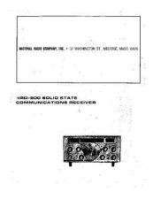 Buy HRO500MANUAL Manual by download Mauritron #184724