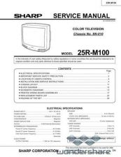 Buy Sharp 25RM100 SM GB(1) Manual.pdf_page_1 by download #177975