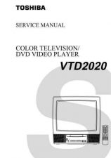 Buy TOSHIBA VTD2020 a TECH INFO by download #132213