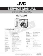 Buy GC-QX3U 86564 Service Schematics by download #130332