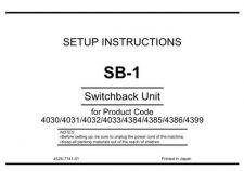 Buy Minolta UNPACKSB-1 Service Schematics by download #137394