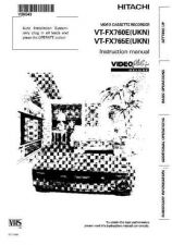 Buy Hitachi VTFX850EUKN EN Manual by download #171028