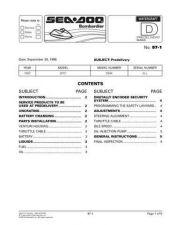 Buy SEADOO SBL97 A Service Manual by download #157584