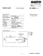 Buy Sanyo SC810 (SP) Manual by download #175242