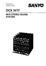Buy Sanyo DC-X750 Operating Guide by download #169247