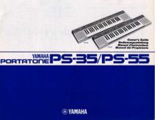 Buy Yamaha PS55E Operating Guide by download Mauritron #204072