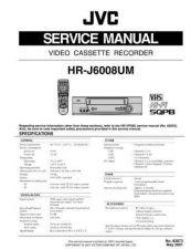 Buy JVC HR-J6008UM Service Schematics by download #155934