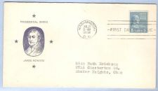 Buy DC Washington First Day Cover / Commemorative Cover James Monroe~34