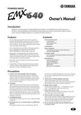 Buy Yamaha EMX640E Operating Guide by download Mauritron #204655