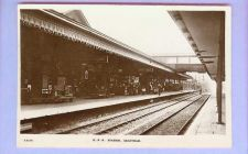 Buy ENG Grantham GHR Station Real Photo Post Card View Across Tracks From Oute~127