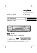 Buy Sanyo VHR-H631(OM5310279-00 12) Manual by download #177470
