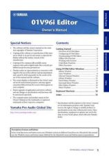 Buy Yamaha 01V96I EDITOR EN OM A0 Operating Guide by download Mauritron #204320
