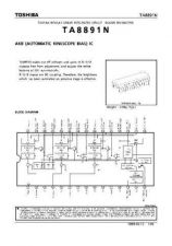 Buy SEMICONDUCTOR DATA TA8891NJ Manual by download Mauritron #190420