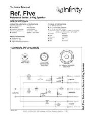 Buy INFINITY RS FIVE TS Service Manual by download #147702
