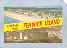 Buy DE Fenwick Island Lighthouse Postcard Greetings from Fenwick Island showin~113