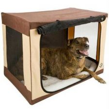 Buy Pet Gear Travel Lite Soft Crate Large Sahara