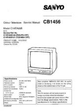 Buy Sanyo CB1456 SM-Onl Manual by download #171295