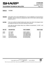 Buy Sharp VCA105HM-005 Service Schematics by download #158009