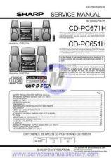 Buy Sharp CDRW5000H-W SM DE Manual by download #180081