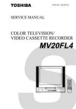 Buy TOSHIBA MV20FL4 SM Service Schematics by download #160274