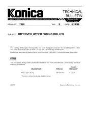 Buy Konica 08 Service Schematics by download #135447