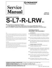 Buy PIONEER R1959 Service Data by download #149331