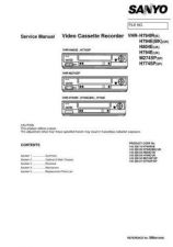 Buy Sanyo Service Manual For VHR-H794E Manual by download #176220