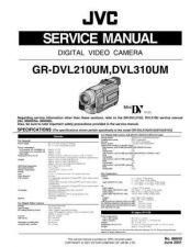 Buy GR-DVL210U-310U circuit Service Schematics by download #130348