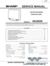 Buy Sharp 36US650 Manual.pdf_page_1 by download #178371