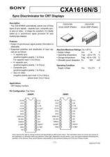 Buy MODEL CXA1616 Service Information by download #124000