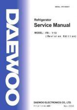 Buy Daewoo FR4506K001 Service Manual by download #160657