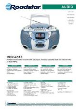 Buy ROADSTAR RCR-4515 by download #128457