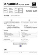 Buy MODEL TVR3701F Service Information by download #124949
